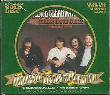 Credence clearwater revival (CCR) Chronicle vol.2 24 carats gold CD poo rar