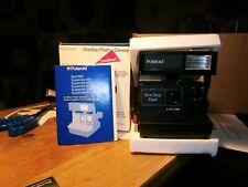 Cámara Polaroid un paso icónico Flash Cámara Compacta-instantánea + 1 películas N e w artículo -