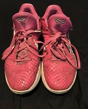 new arrival 401f9 8c241 Kobe 6 Kay Yow Breast Cancer Think Pink Men s Size 10 RARE