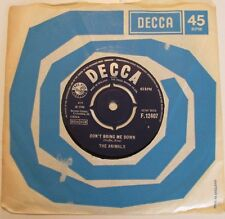 "Animals-Don't Bring Me Down-F.12407-Vinyl-7""-Single-Record-45-1960s"