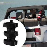 Car Roll Bar Fire Extinguisher Holder Mount Bracket For Jeep-Wrangler New N5S6