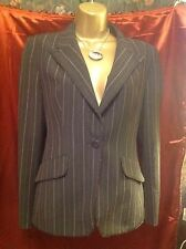LOVELY LADIES PINSTRIPE JACKET.  SIZE 12, BY PER UNA, GREAT FOR OFFICE, CLASSY.