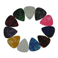 Lot of 100Pcs Thin 0.46mm Guitar Picks Plectrums Celluloid For Acoustic Guitar