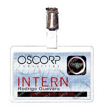 Spiderman Oscorp Industries Peter Parker Intern ID Badge Cosplay Prop Comic Con
