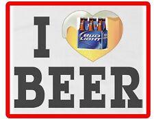 1980 Bud Light Beer Ad Spuds McKenzie Refrigerator Tool Box Magnet Man Cave