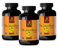 Ginkgo Biloba Seeds - ST. JOHN'S WORT EXTRACT - Help Memory - 3 Bottles