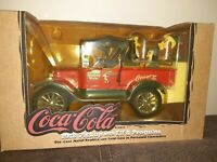 Coca Cola 1918 Pickup With Elf And Penguins