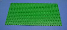 LEGO 1 x Platte 16x32 32x16 Noppen grün Rasen Bau Grund | green plate