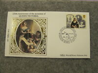 Ltd Edt Benham First Day Cover / FDC -1987 Queen Victoria 150 Anniversary - BS23