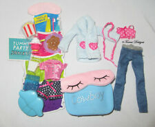 New Large Lot Cloe Bratz Doll Sleepover Party Outfits Accessories Gift Play Ooak