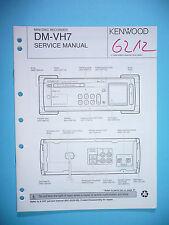 Service Manual-Anleitung für Kenwood DM-VH7 ,ORIGINAL