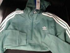 Adidas Originals 3-Stripes Hoodie Future Hydro Sweatshirt Men's SIZE M