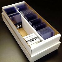 1600 BCW Card Shoebox Cardboard Storage Box with 800 Sleeves