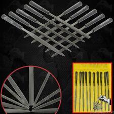 Set 10pcs 3x140MM Precision Needle Files Metal Filing Watch Jewelry Repair Tool