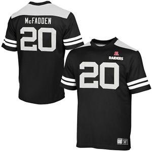 NFL Las Vegas Raiders Football Jersey Shirt Darren Mcfadden 20 Hashmark