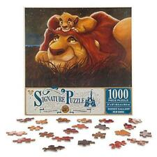 DISNEY PARKS SIGNATURE JIGSAW PUZZLE THE LION KING 1000 PCS