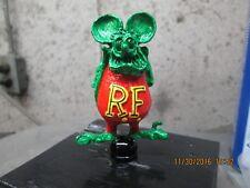 rat fink vintage rare ed roth hand painted ratrod hotrod car hood ornament