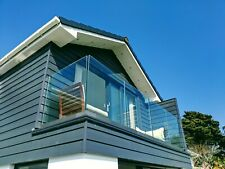 More details for frameless glass balustrade kit - only£88 p/m  - perfect for balconies