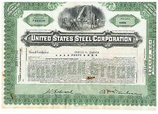 USA - United States Steel Corporation Share, green, void