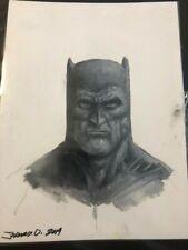 Johnny Desjardin original oil Batman