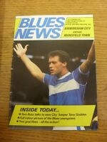 25/08/1987 Birmingham City v Mansfield Town [Football League Cup] (Creased). Ite