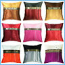SILK VINTAGE THROW DECORATIVE PILLOW COVER FOR SOFA COUCH THAI ELEPHANT SILK 16""