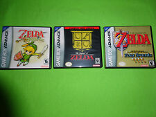 Empty Custom Cases Legend of Zelda: The Minish Cap Nintendo Game Boy Advance GBA