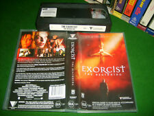 VHS *EXORCIST - THE BEGINNING (2004)* Rare Australian Roadshow Issue Epic Horror