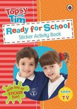 Ready for School: a Ladybird Topsy and Tim Sticker Activity Book-CBEEBIES