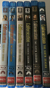 Californication Complete Series 1 To 6 Blu Ray Region B Very Rare