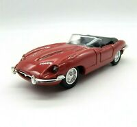 Corgi Diecast Red Jaguar E Type Open Top Model 1:43 Scale Mint Rare