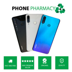 GENUINE HUAWEI P30 LITE MAR-LX1A REAR BACK GLASS BATTERY COVER HOUSING PANEL