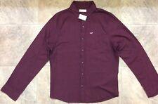 NWT HOLLISTER Men's Slim Muscle Fit Long Sleeve Button Shirt XL