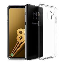 Custodia Cover Morbida Air Gel Slim Trasparente Anukku Per Samsung Galaxy A8