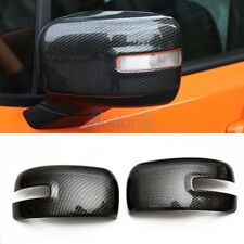 For Jeep Renegade 2015-18 Carbon Fiber Door Mirror Overlay Panel Rear View Cover