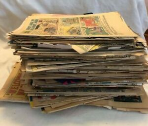 Comic Book Lot For Craft - Silver Age - 7 POUNDS - Gold Key, Harvey, Charlton