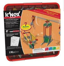 K'nex Education Intro to Simple Machines: Levers and Pulleys Set 178 Pieces New