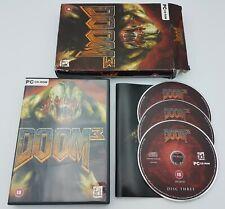 Doom 3 - PC CD-ROM - Boxed - Free, Fast P&P!