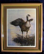 """Kathleen Whitehead """"Morning Stretch"""" S/N framed"""
