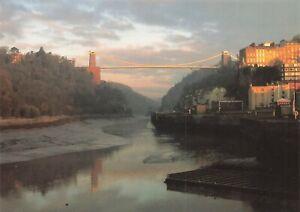 Postcard, Bristol, Clifton Suspension Bridge by Still Bristol/Hedworth OK2