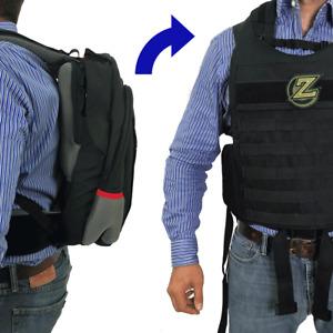 Masada – Valkyrie Bulletproof Backpack Full Body Armor / Bulletproof Vest (IIIA)