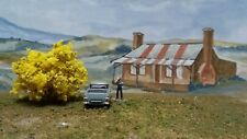 "MODEL AUSTRALIAN GOLDEN WATTLE BUSHES HO SCALE    "" A mass of colour ""  Set of 6"