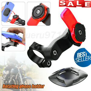 Quad Lock Out Front Bike Motorcycle Twist Mountain Cradle Cycling Phone Holder