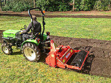 More details for wsb105 - winton heavy duty stone burier - 1.05m wide - for compact tractors