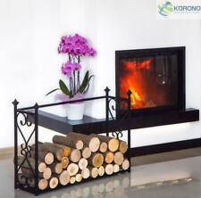 Kaminholzregal Holzständer Holzregal Holzkorb Holzlege Holzbehälter H 60cm Stahl