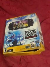 Rare w box untested Sony PSP 3000 Rock Band Unplugged Limited Edition Pack gift