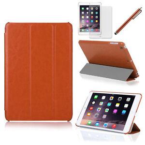 Tri-Fold Slim Smart Magnetic Leather Case for Apple iPad Air 1 2 / Mini 1 2 3