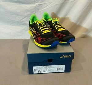 Asics T307N GEL-NoosaFAST Flame/Black/Yellow Running Shoes NEW Fast Shipping