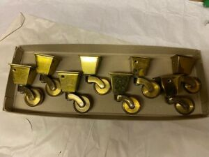 Solid Brass Castors   34mm