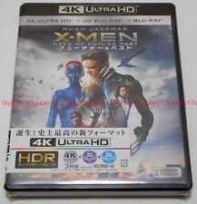 New X-Men Days of Future Past 4K ULTRA HD UHD + 3D Blu-ray + 2D Blu-ray Japan